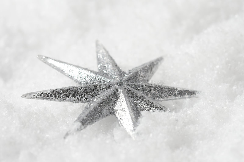 Étoile brillante de Noël photos libres de droits