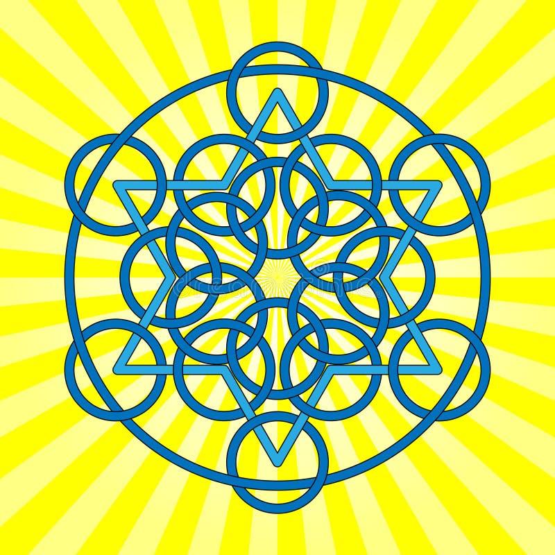 Étoile celtique illustration libre de droits