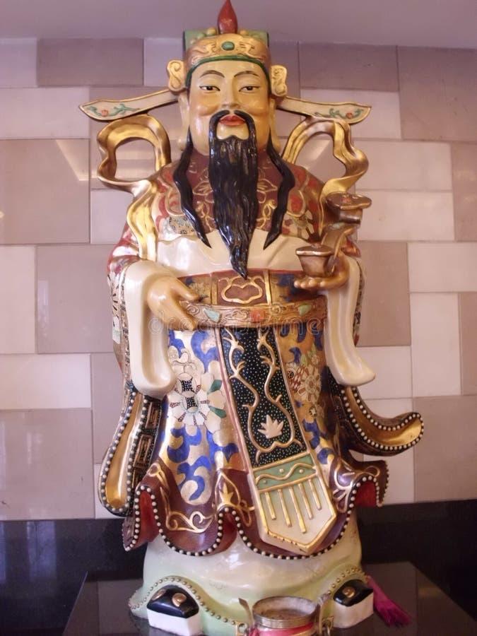 Étoile chanceuse - statue de porcelaine photographie stock