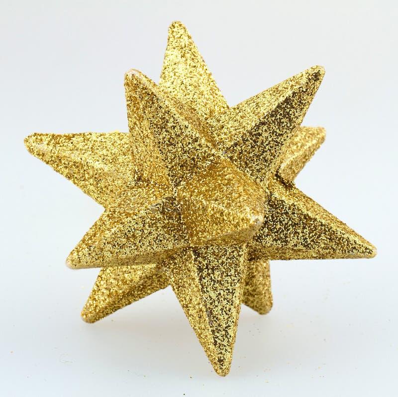 Étoile d'or photographie stock