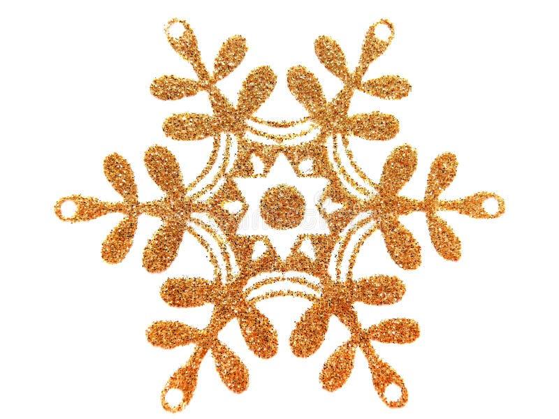 Étoile d'or sur le blanc illustration de vecteur