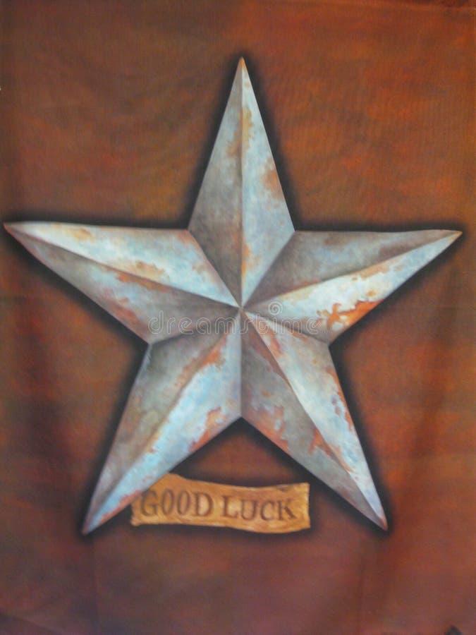 Étoile de bonne chance images stock