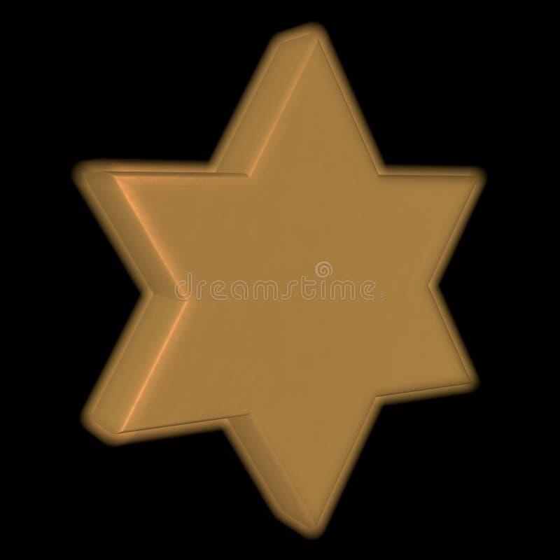 Étoile de David illustration libre de droits