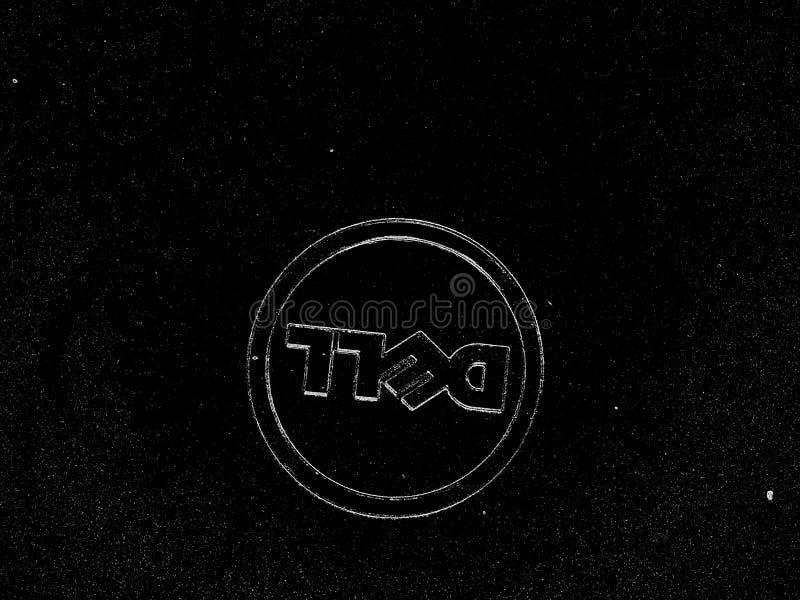 Étoile de Dell Logo sepcial photographie stock libre de droits