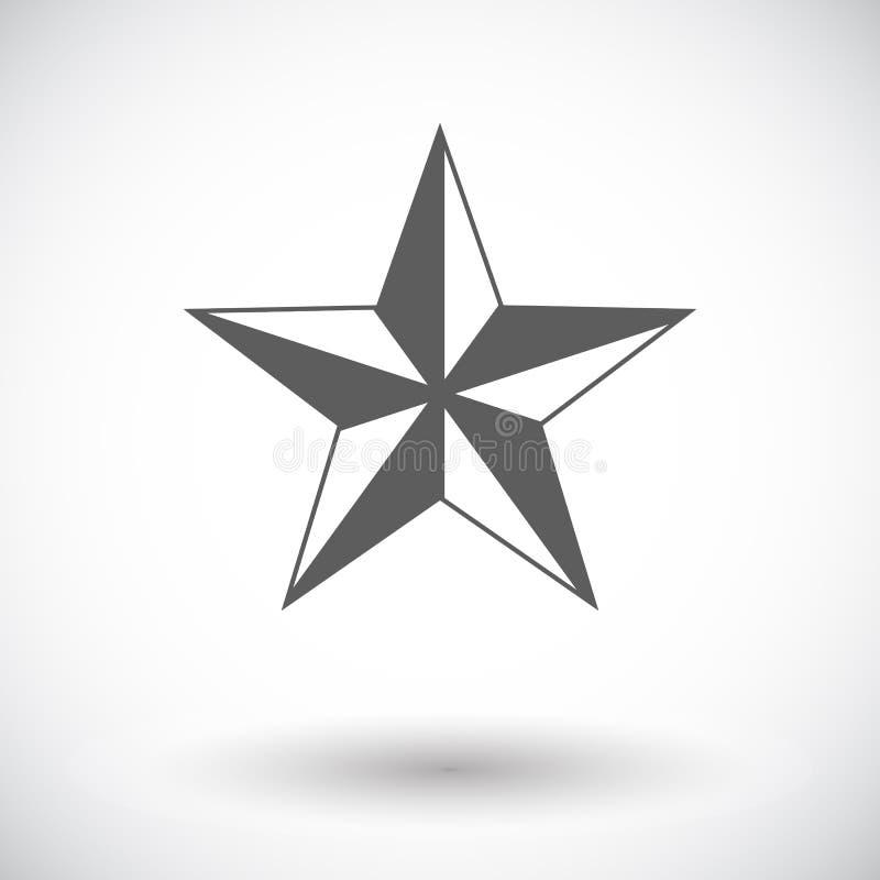 Étoile de Noël illustration de vecteur