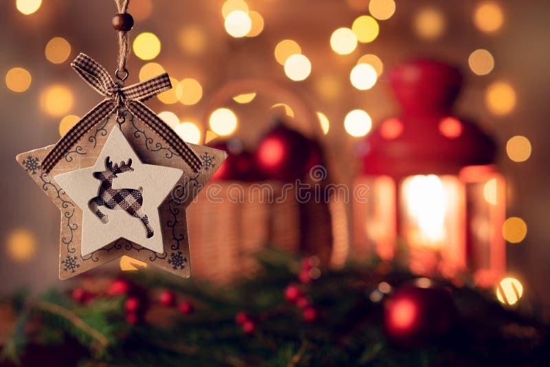 Étoile de Noël sous forme de jouets image libre de droits
