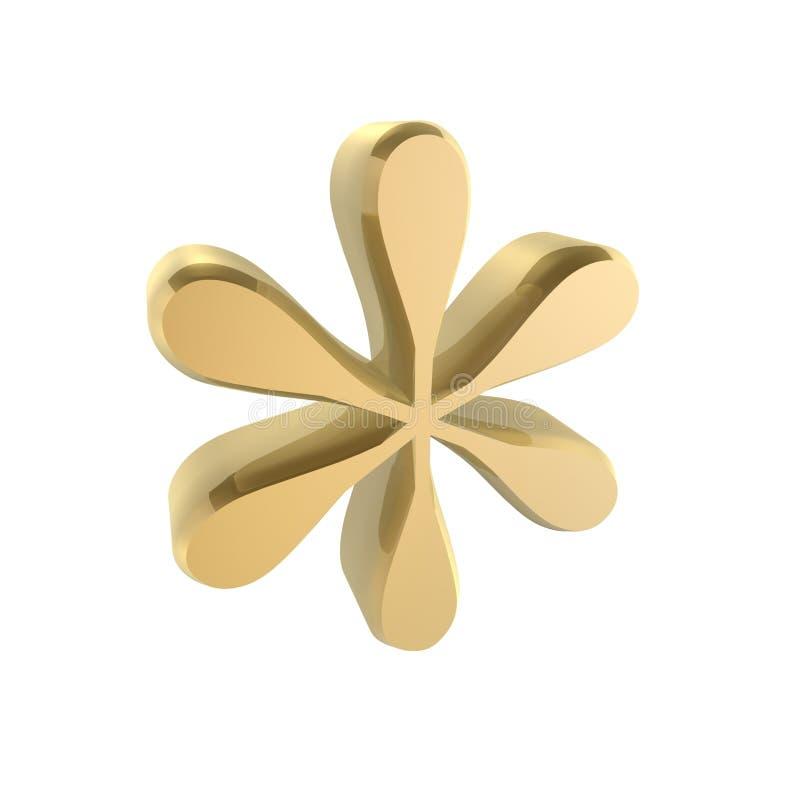 Étoile de téléphone illustration de vecteur