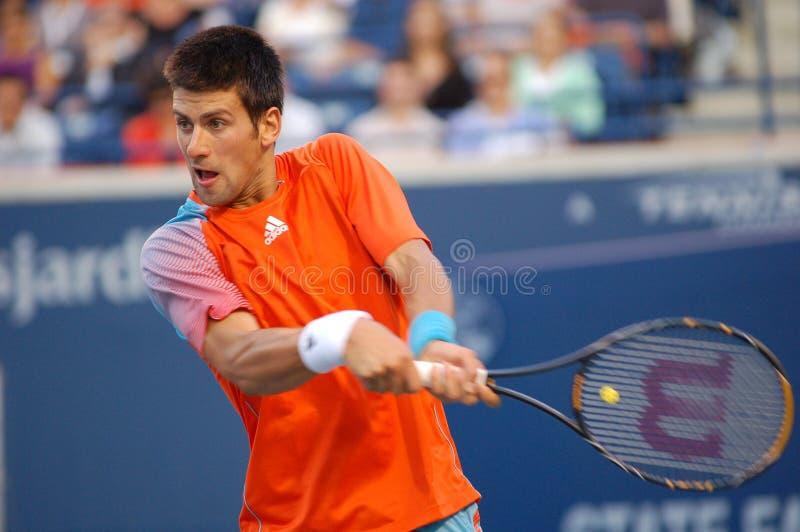 Étoile de tennis de Djokovic Novak (52) images libres de droits