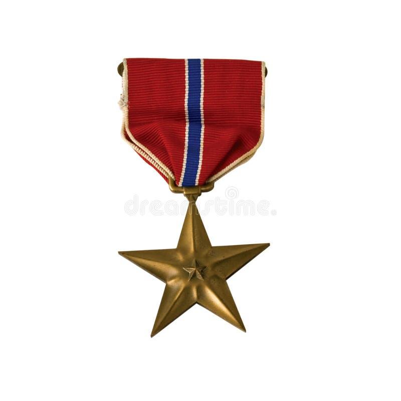 étoile en bronze photos stock