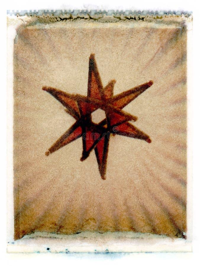Étoile en verre illustration de vecteur