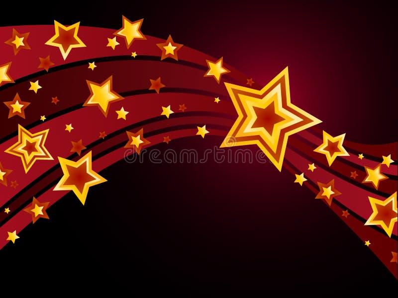 Étoile filante illustration libre de droits