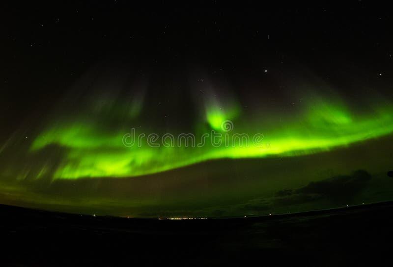 Étoile polaire de l'aurore images libres de droits