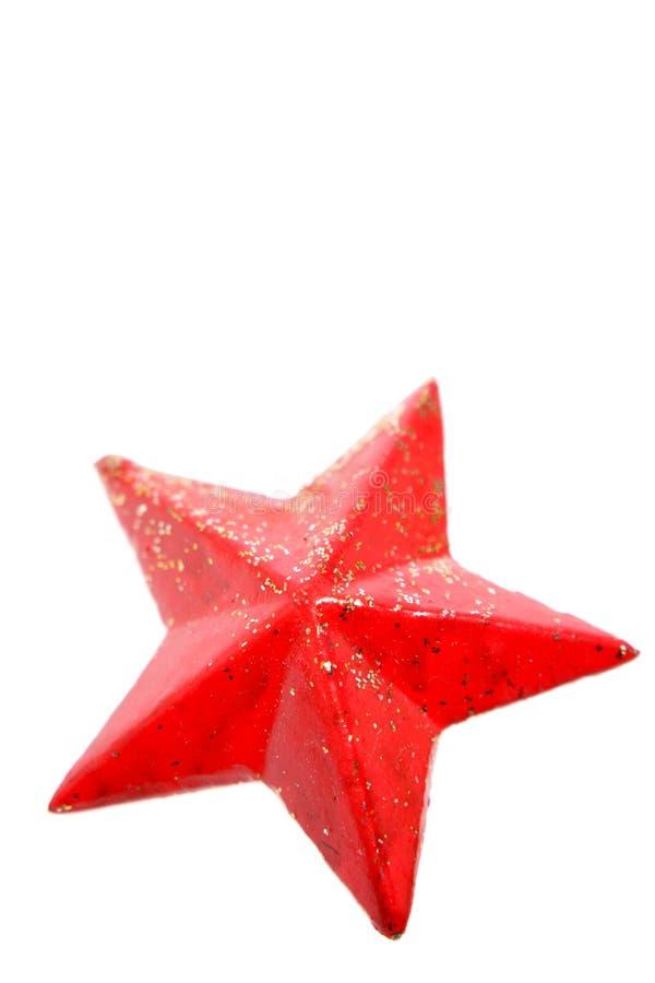 étoile rouge photographie stock
