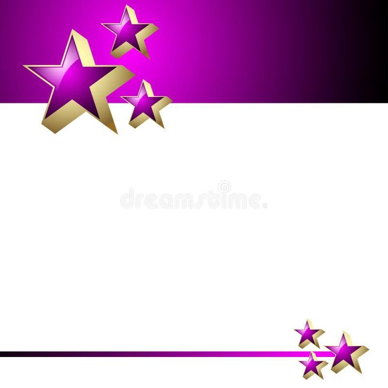 étoiles illustration stock
