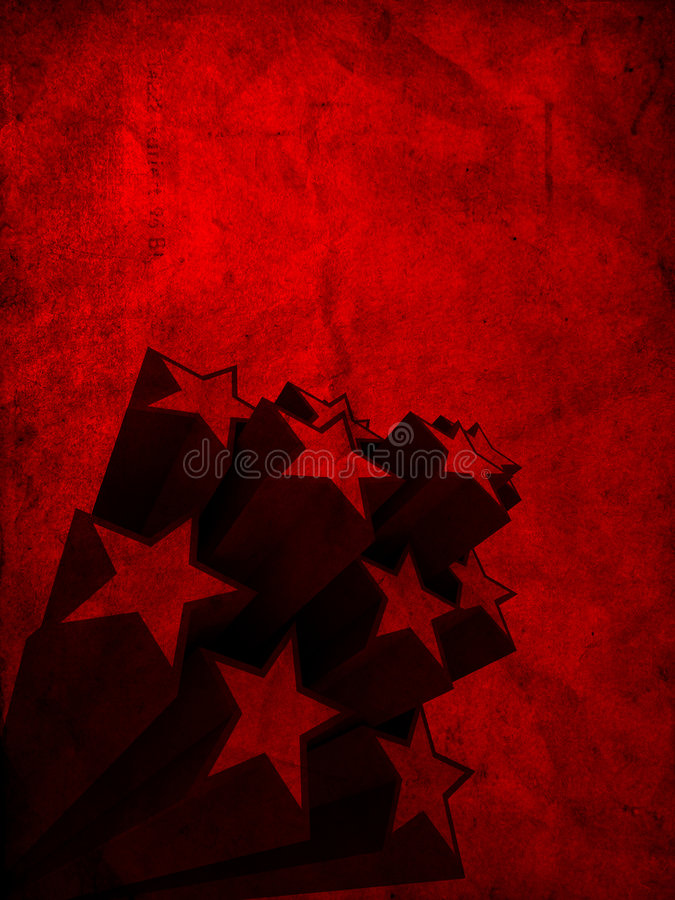 Étoiles abstraites illustration libre de droits