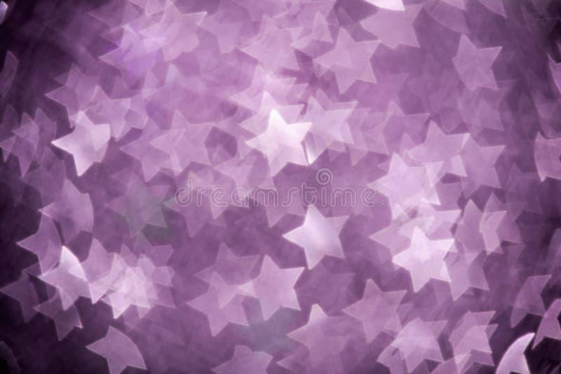 Étoiles abstraites de Noël photographie stock libre de droits