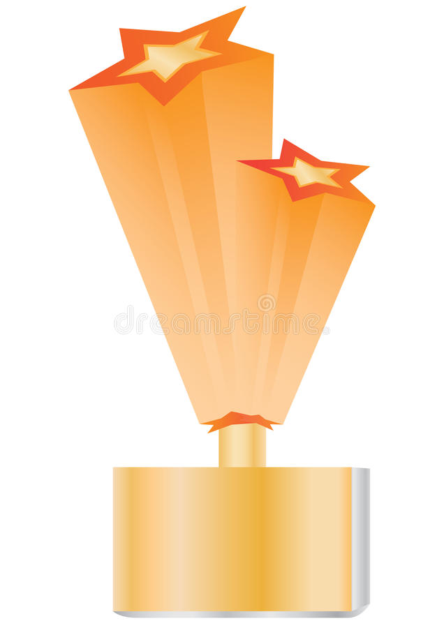 Étoiles Award_eps illustration stock
