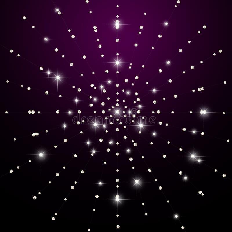 Étoiles brillantes illustration de vecteur
