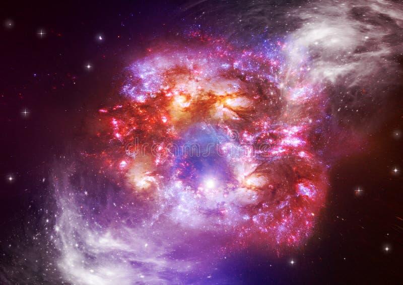 Étoiles dans l'espace photo stock
