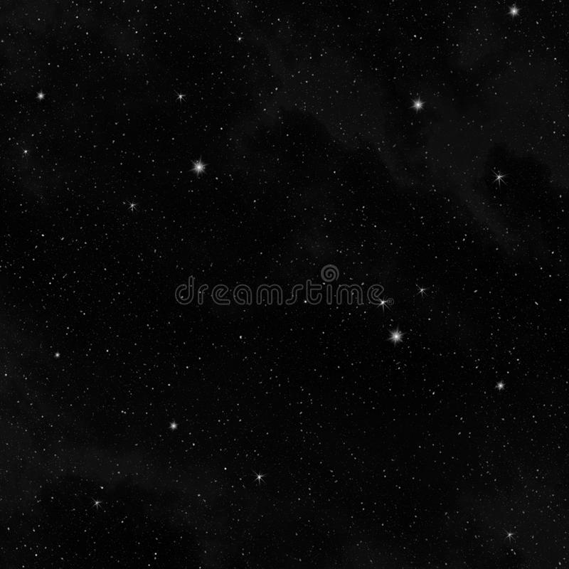 Étoiles dans le ciel photos stock