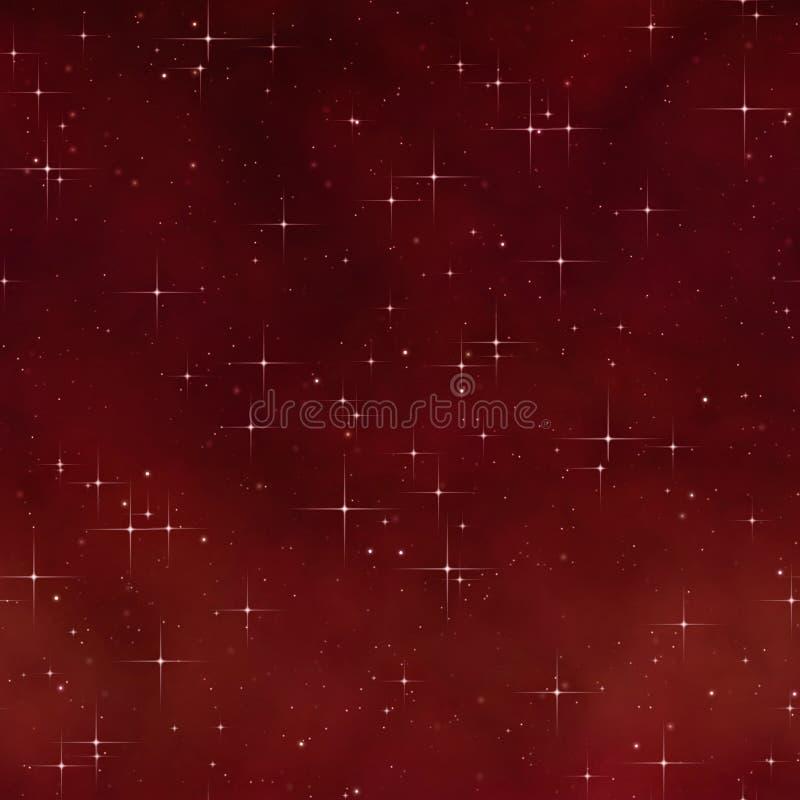 étoiles de ciel de nuit illustration de vecteur