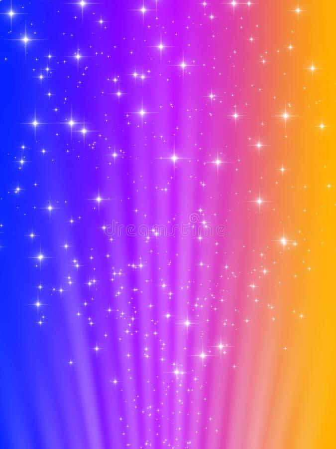 Étoiles de fond illustration de vecteur