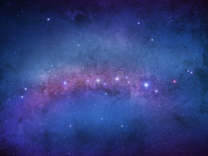Étoiles de galaxie - univers d'infini images stock