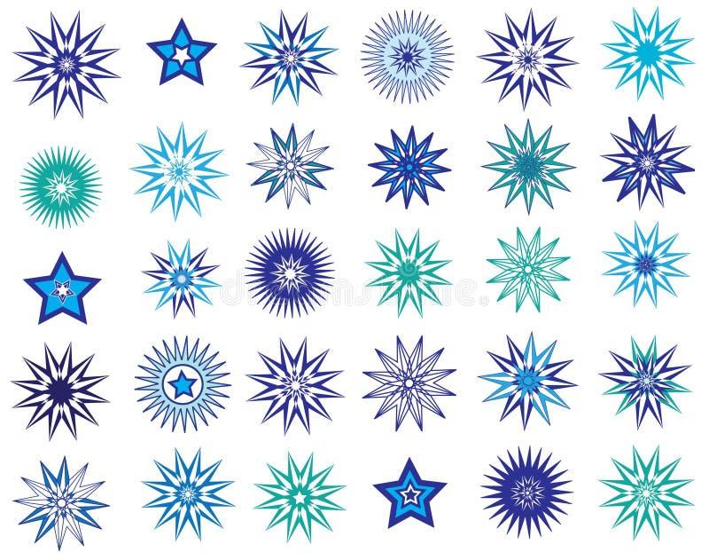 Étoiles de l'hiver images stock