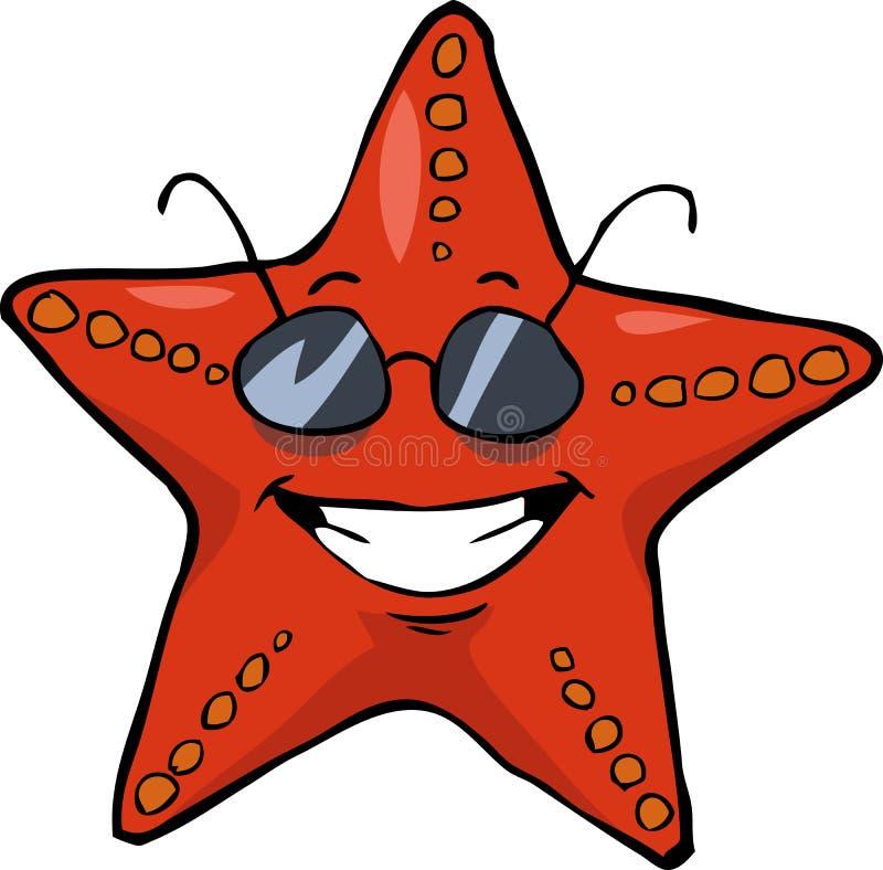 Étoiles de mer illustration de vecteur