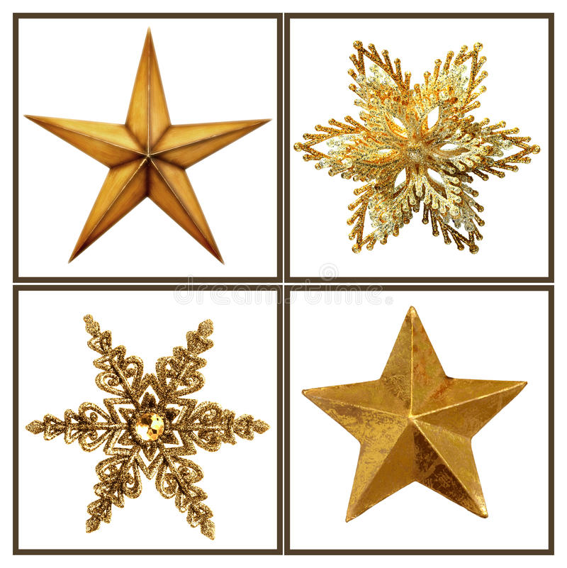 Étoiles de Noël photos stock