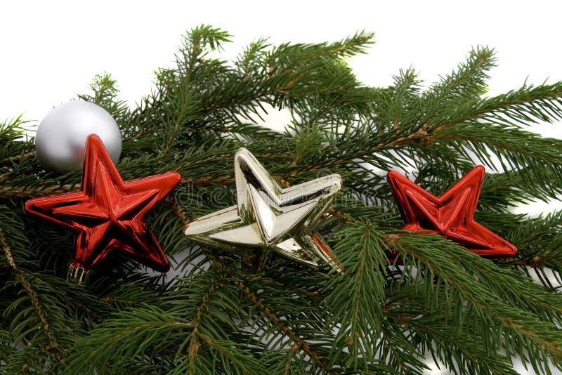 Étoiles de Noël photographie stock