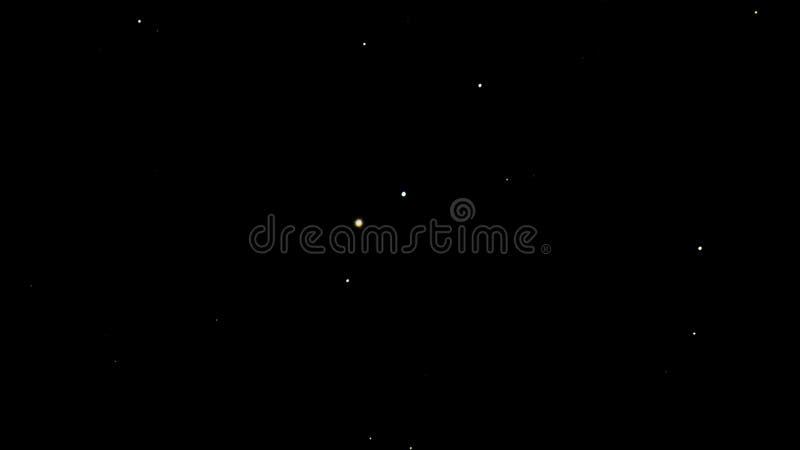 Étoiles en ciel de nuit foncé photos libres de droits