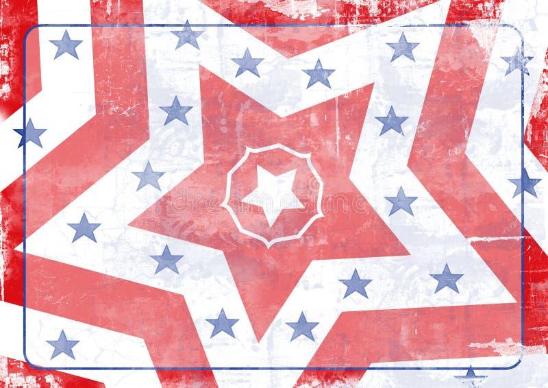 Étoiles et pistes illustration libre de droits