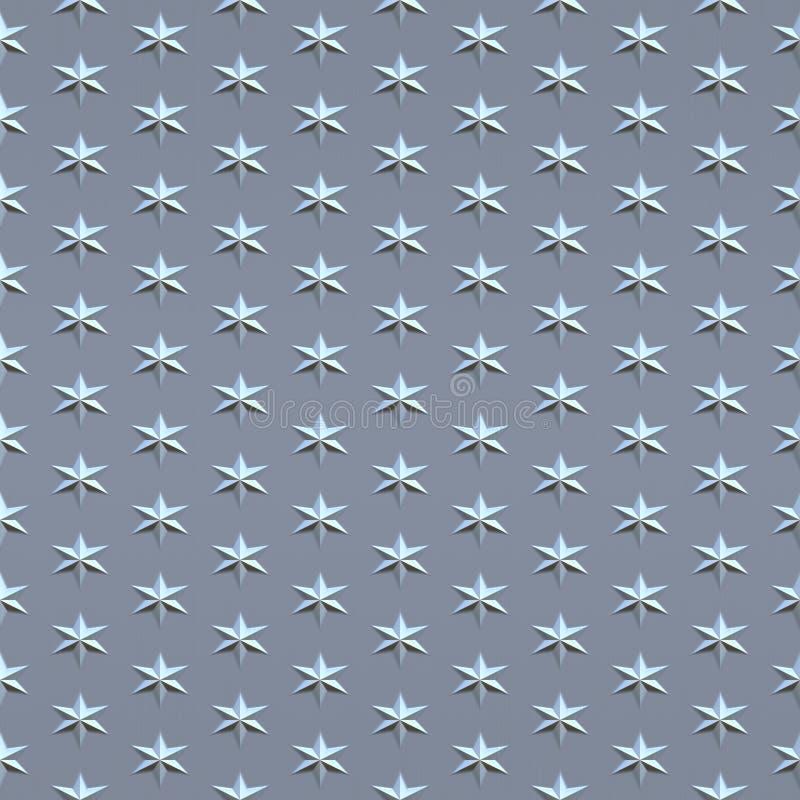 étoiles fines balayées illustration libre de droits
