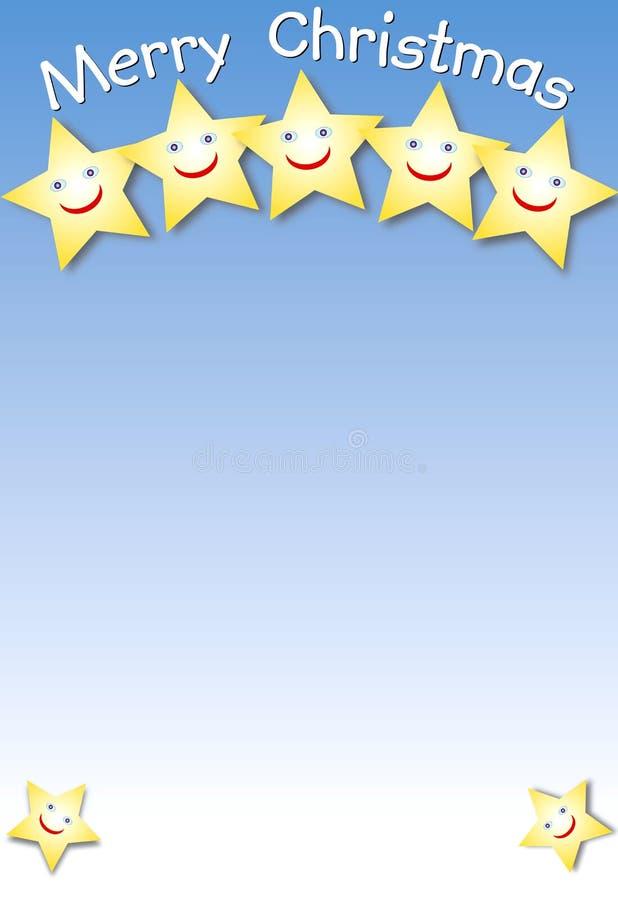 Étoiles riantes illustration de vecteur