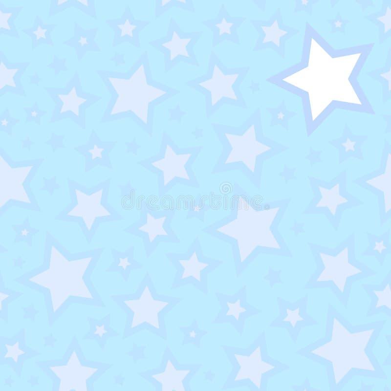 Étoiles sans joint illustration libre de droits