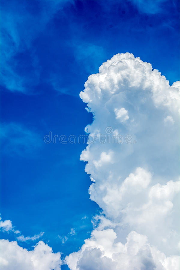Étranger dans le ciel photographie stock