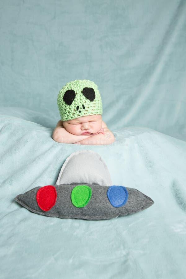 Étranger nouveau-né de bébé photos libres de droits