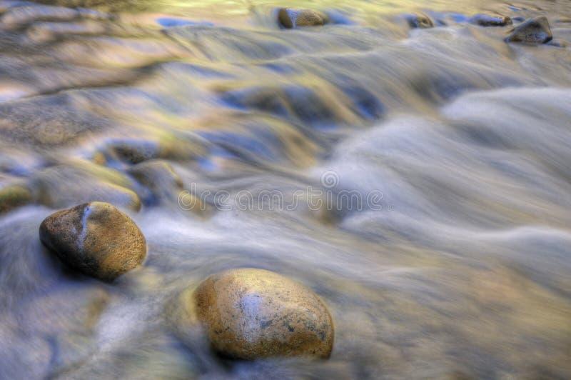 Étroits de fleuve de Vierge photographie stock
