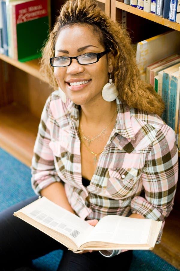 étude de bibliothèque image libre de droits