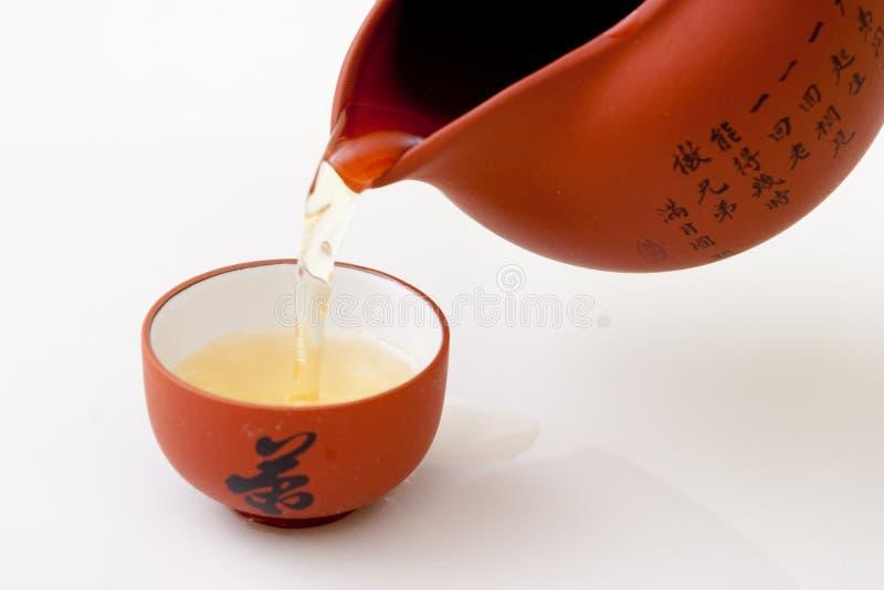 Étude de cuvette de thé photos libres de droits