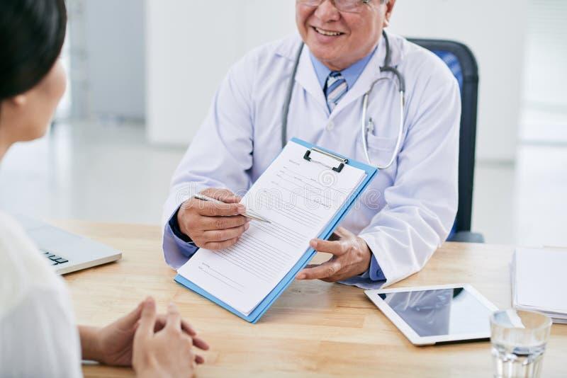 Étude médicale photo libre de droits