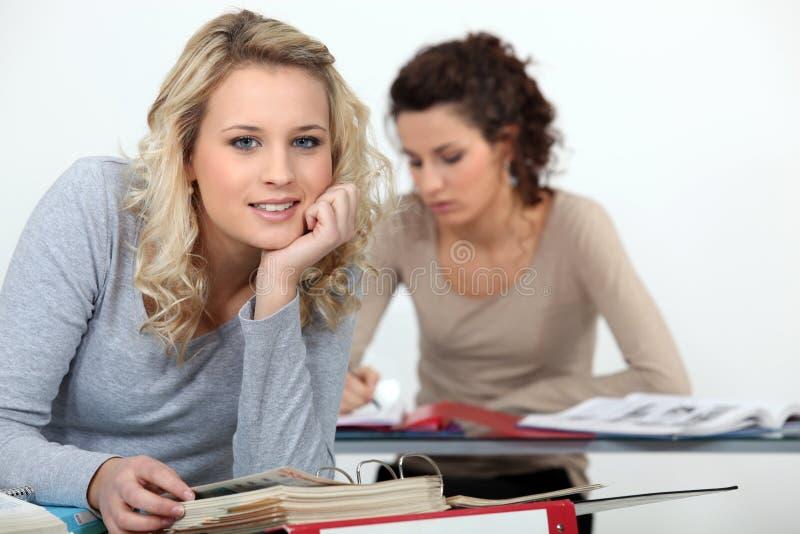 Étude pour des examens. images stock