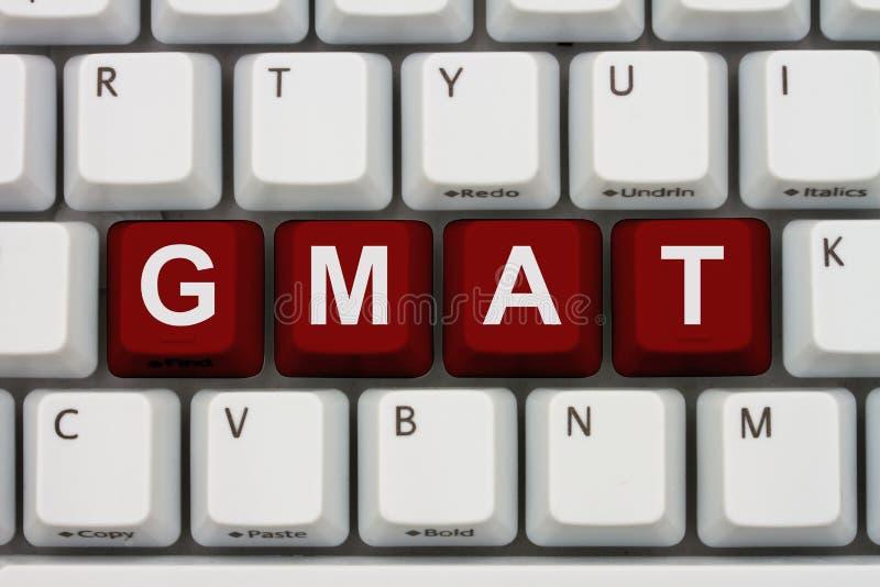 Étude pour votre GMAT en ligne image libre de droits