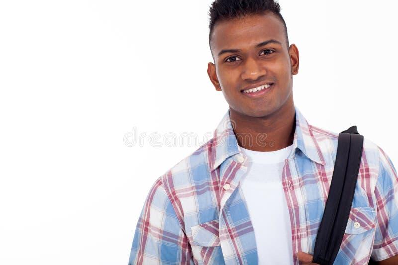 Étudiant adolescent indien image libre de droits