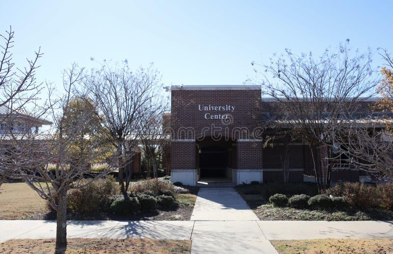 Étudiant Center à une institution d'enseignement supérieur photographie stock