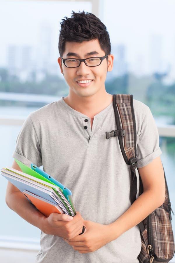 Étudiant d'adolescent photo stock