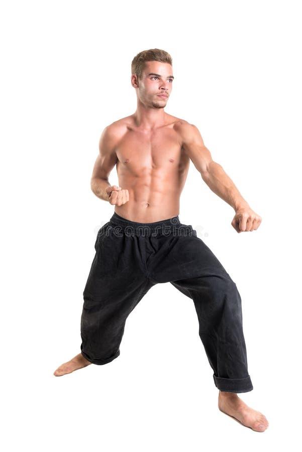 Étudiant d'arts martiaux photographie stock