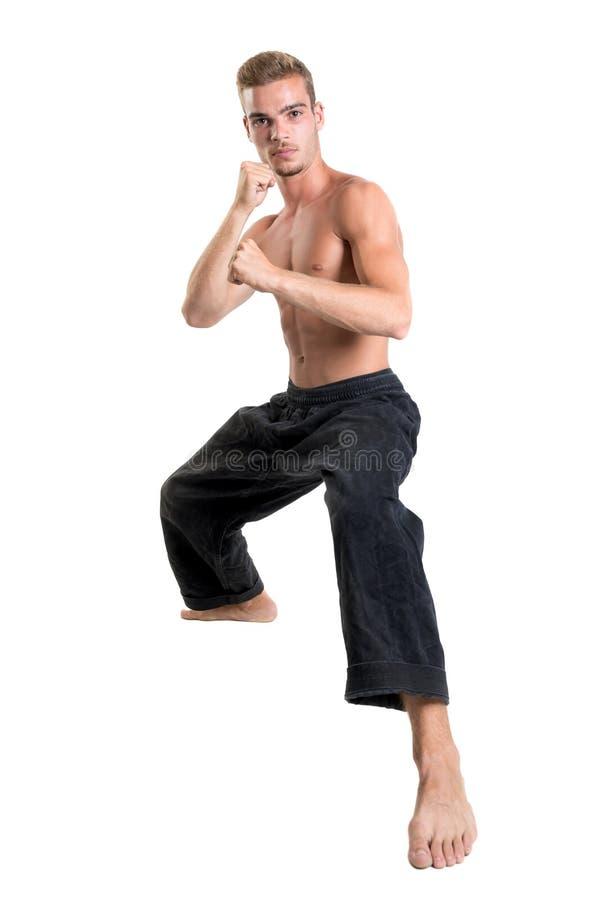 Étudiant d'arts martiaux image stock