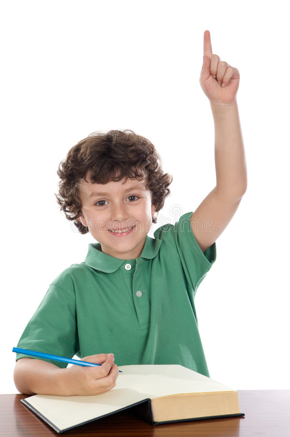 Étudiant d'enfant images libres de droits